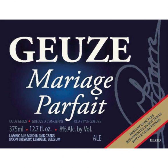 Boon Mariage Parfait (Gueuze)